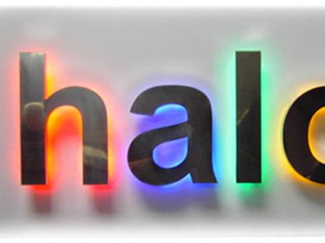 LED sign image