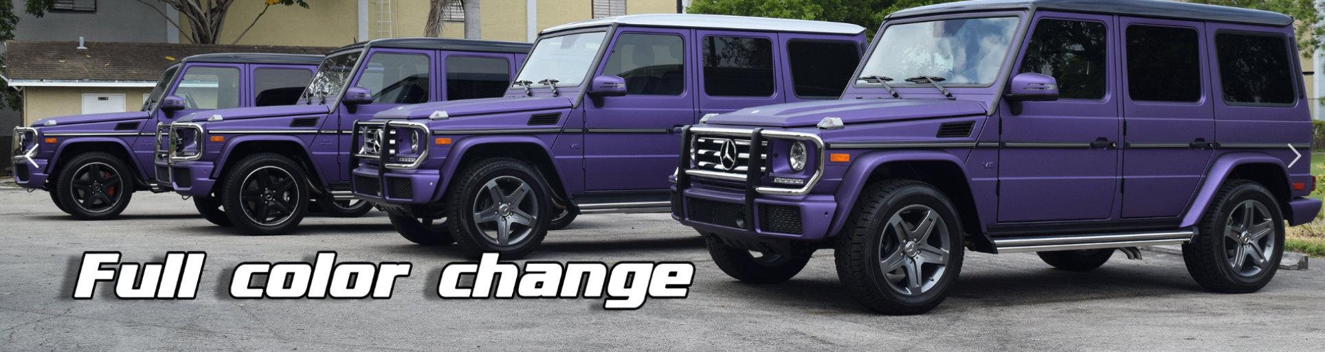 purple Mercedes-Benz cars
