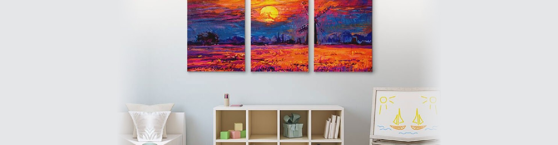 painting on the wall