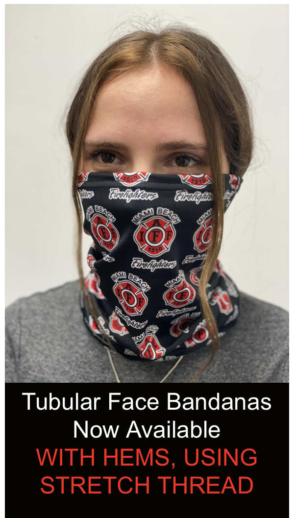 Printed Fabric Bandana